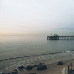 The early morning view from the Malibu Beach Inn. #ABGetaway