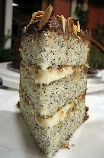 Poppy seed cake, Seed cake and Vanilla buttercream icing on Pinterest