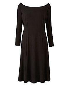 Joanna Hope Textured Bardot Dress