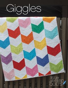 GIGGLES Quilt Pattern by Jaybird Quilts Julie Herman