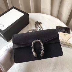 0ea93b77034a Gucci Dionysus Velvet Super Mini Bag 476432 Black 2017  purses2017