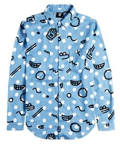 Lazy Oaf | Bits N Bobs Long Sleeve Shirt