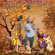 mini kit Beautiful Autumn de KittyScrap http://scrapfromfrance.fr/shop/index.php?main_page=product_info&cPath=88_98&products_id=13434 Photo by Iga Logan https://www.facebook.com/photo.php?fbid=10154046905964312&set=a.499752199311.275679.842554311&type=3&theater