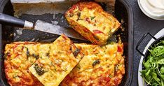 Turn left-over vegies into a tasty zucchini slice. Perfect for kids lunches and a savoury snack.