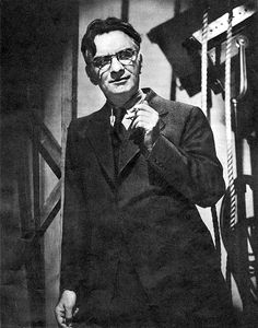 James M. Cain, author of THE POSTMAN ALWAYS RINGS TWICE
