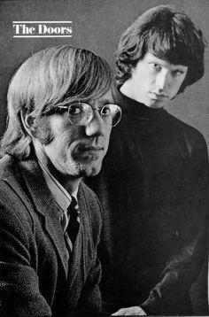 Ray Manzarek & Jim Morrison