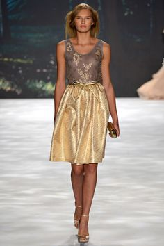 Badgley Mischka Spring 2013 Collection.