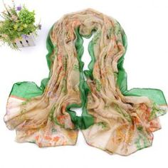 $4.46 Stylish Colored Print Decorated Scarf For Women