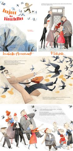 Fishinkblog 7387 Isabelle Arsenault 2 Check out my blog ramblings and arty chat here www.fishinkblog.w... and my stationery here www.fishink.co.uk , illustration here www.fishink.etsy.com and here carbonmade.com/.... Happy Pinning ! :)