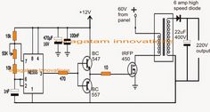 The post discuses the how to make a 3 phase inverter circuit which can be used in conjunction with any ordinary single phase square wave inverter circuit. The circuit was […] Hobby Electronics, Cool Electronics, Electronics Projects, Ac Circuit, Electronic Circuit Design, Electrical Circuit Diagram, Solar Inverter, Electronic Schematics, Smart Home Automation
