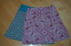 Schnabelinas Welt: Traumstoffrock Teil III (Rock nähen) Skirt Tutorial, follow link for instructions on constructing the pattern