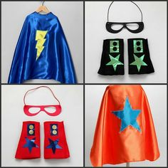 These awesome super hero capes are also on the 25 gifts for boys sites!