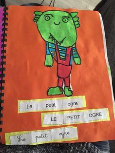 Le petit ogre veut aller à l'école (Période 1) GS | La Maternelle De Wendy