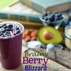 Berry Brainy Blizzard Recipe