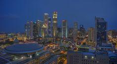 ***Blue Hour Skylines*** by Senthil Kumar Damodaran on 500px