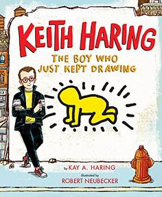 Keith Haring the Boy who Just Kept Drawing Book Awards New Keith Haring the Boy who Just Kept Drawing Kay Haring Art Books For Kids, Childrens Books, Art For Kids, Art Children, Toddler Books, Louise Nevelson, Jean Michel Basquiat, Johannes Vermeer, Jackson Pollock