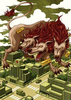 Illustration 8 by Yuta Onoda, via Behance