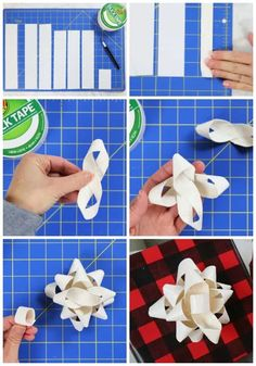 3 creative Christmas gift wrapping ideas using Duck Tape. Learn how to make bows for gifts that will stand out and look amazing! Creative Christmas Gifts, Christmas Gift Wrapping, Holiday Crafts, Christmas Crafts, Christmas Decorations, Christmas Tree, Christmas Ornaments, Easy Crafts, Diy And Crafts