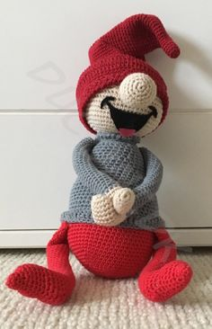 Best 12 Taikon den glade nisse – By Ducont Crochet Tree, Crochet Santa, Crochet Snowman, Diy Crochet, Crochet Crafts, Crochet Projects, Crochet Pattern Free, Crochet Toys Patterns, Stuffed Toys Patterns
