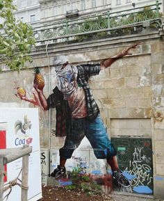Queensland Rioter in Vienna, Austria / 27 Jaw Dropping Works Of Street Art So Big They Will Never Fit In A Gallery