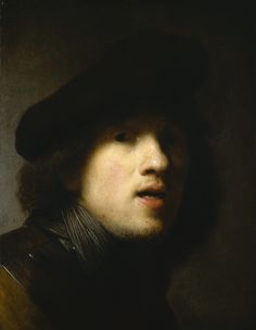 Self Portrait with Gorget and Beret, 1629 42.8 x 33 cm. Museum of Art The Clowes Fund Collection, Indianapolis