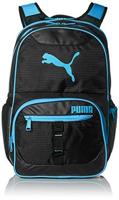 PUMA Mens Acumen 195 Backpack BlackBlue >>> Continue to the product at the image link.(This is an Amazon affiliate link and I receive a commission for the sales)