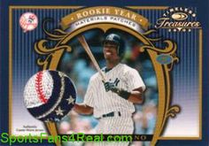 """""""Not Sold Out, But Coming Soon""""  """"Stay Tuned to Twitter""""   2003 Timeless Treasures Rookie Year Patches #22 Alfonso Soriano 4 of 10 $NA - card"""