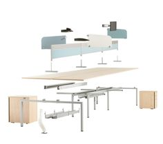 Oblique Bench Desk