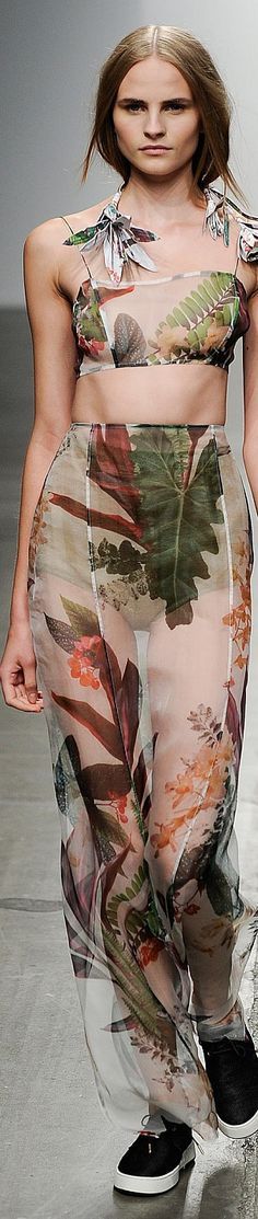 Osklen Spring 2015 | The House of Beccaria~