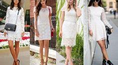 Dicas de Como Usar Vestidos de Renda Branco Para Festa