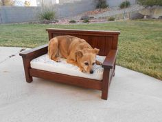 Doggie Daybed | Do It Yourself Home Projects from Ana White