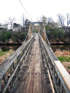 Iowa Falls Swinging Bridge