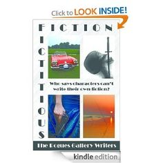 """Fictitious Fiction is a really cool book. The Rogues Gallery Writers (of which I'm a member) wrote a book called The Method Writers. The Method Writers follows the exploits of four writers who use the """"method acting"""" technique to flesh out their characters. The characters became so strong, they wrote their own book, Fictitious Fiction! Check it out!"""