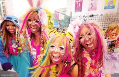 Ganguro Girls