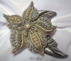 (140) Gallery.ru / Цветок - Золотное шитьё ( мои работы) - El-lina