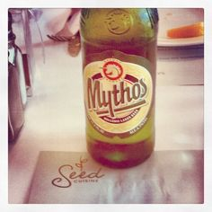 Still prefer Fix #beer #seedcuisine #stpeters #restaurant #mythos @Costa Arvanitopoulos
