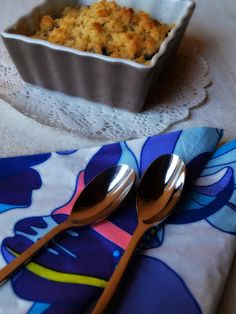 Heidelbeer-Crumble Dessert, Chutney, Macaroni And Cheese, Mango, Magazine, Ethnic Recipes, Happy, Food, Manga
