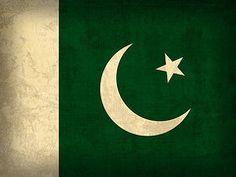 Pakistan Flag Art - Pakistan Flag Vintage Distressed Finish by Design Turnpike Canvas Poster, Canvas Art, Poster Prints, Art Prints, We Are The World, Flags Of The World, Pakistan Country, Flag Of Pakistan, Pakistan Zindabad
