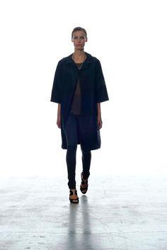BLK DNM Spring 2013 Ready-to-Wear Fashion Show - Alana Bunte