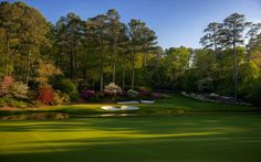 Augusta National 12th Hole from TheSandTrap.com