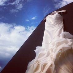 Vestido Vera Wang, por Rafaela Zakarewicz. #instagram #iphone