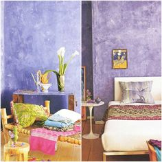 Limewashed Walls via Pattern by Tricia Guild | India-Inspired Interiors