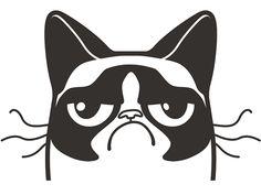 Grumpy Cat Logo on Behance