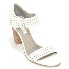 3da5a13b27d7 White with an edge - Ecco Omak Perf Sandal High Heels, Shoes Heels, Pumps