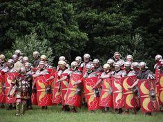 Romans at the Festival of History 2011, Belmarsh, Northamptonshire., via Flickr.