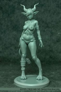 ArtStation - Minotaura-Girl Indiegogo Project, Anne Pogoda