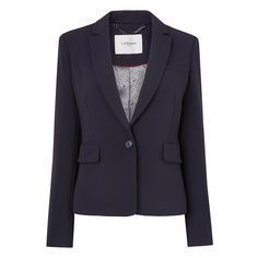 Cleora Tailored Jacket Blue - Sloane Blue