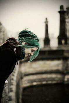 turquoise cold dreadlocks bridge