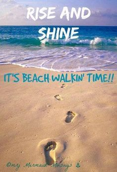 So me!! Love my early morning beach walks! ❤️