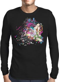 Colourful Geisha - Dhaporshankh Guys Longsleeves